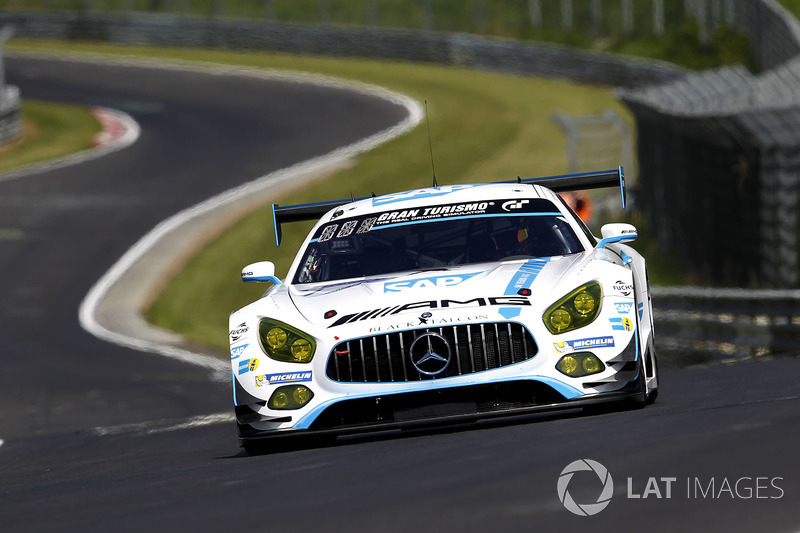 22. #1 Black Falcon, Mercedes-AMG GT3