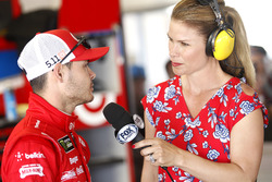 Kyle Larson, Chip Ganassi Racing Chevrolet with Jamie Little, Fox Sports