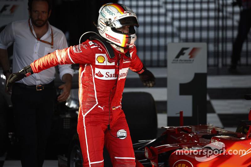 1. GP de Australia 2017: Sebastian Vettel (1º)