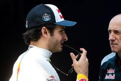 Carlos Sainz Jr., Scuderia Toro Rosso con Franz Tost director de Scuderia Toro Rosso