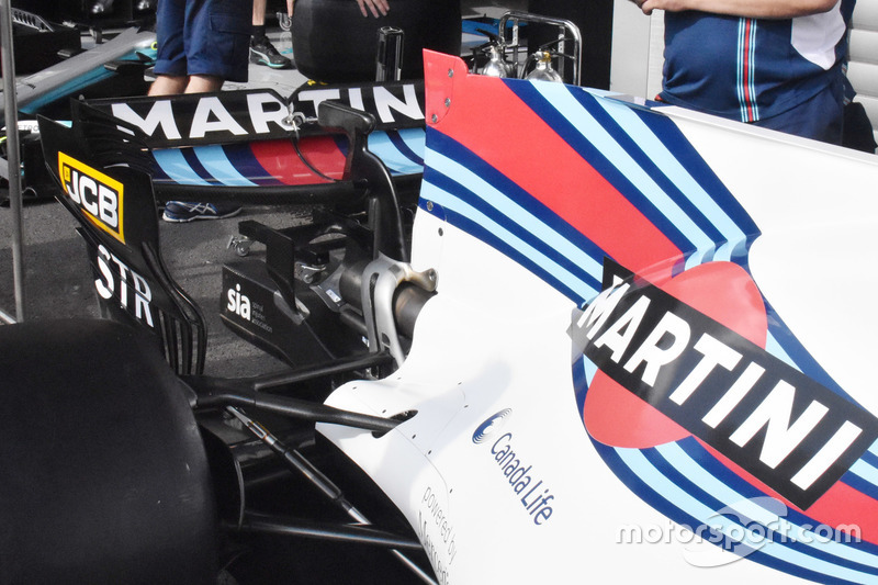 Williams FW40: Hinterradaufhängung - vorherige Version