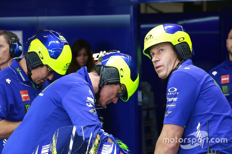 Teammitglieder: Yamaha Factory Racing