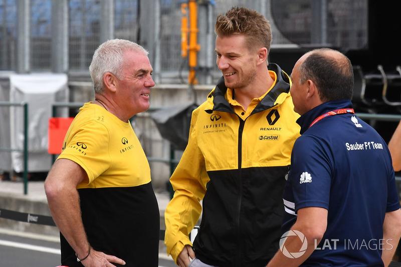 Ніко Хюлькенберг, Renault Sport F1 Team, керівник Sauber Фредерік Вассьор