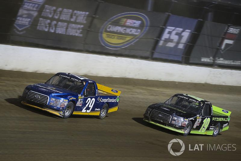 Chase Briscoe, Brad Keselowski Racing Ford y Austin Cindric, Brad Keselowski Racing Ford
