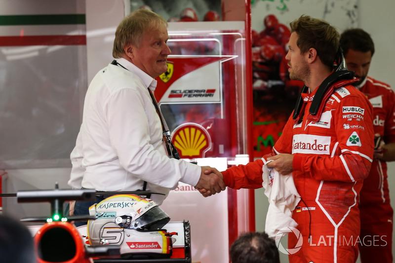 Себастьян Феттель, Ferrari, технічний делегат FIA Йо Бауер