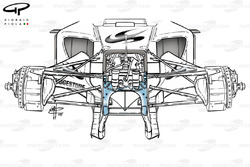 Super Aguri SA05 (Arrows A23) twin keel front suspension