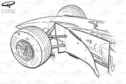 McLaren MP4-14 bargeboards