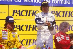 Нельсон Пике, Brabham BMW, Кеке Росберг, Williams Honda, Ален Прост, McLaren TAG Porsche