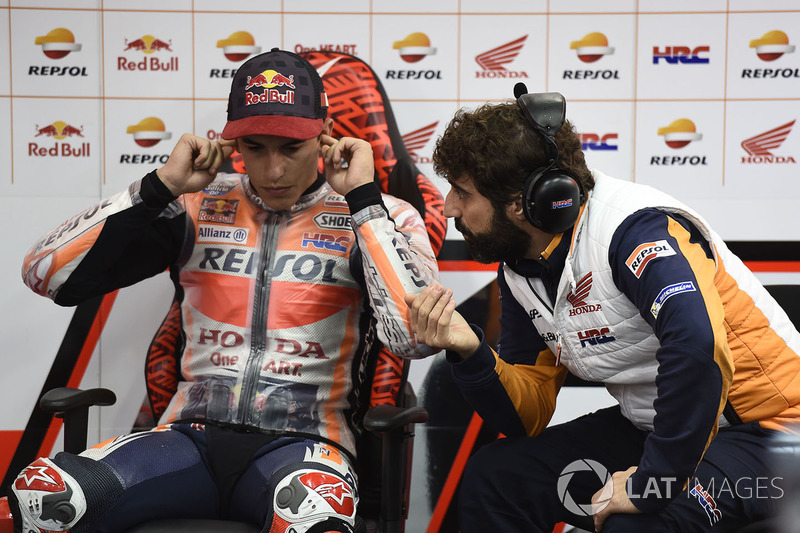 Santi Hernandez, Marc Marquez, Repsol Honda Team
