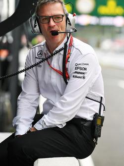 James Allison, directeur technique Mercedes AMG F1