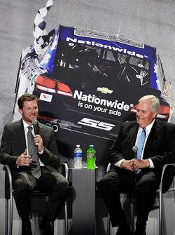 Dale Earnhardt Jr., Hendrick Motorsports, Chevrolet; Rick Hendrick, Hendrick Motorsports