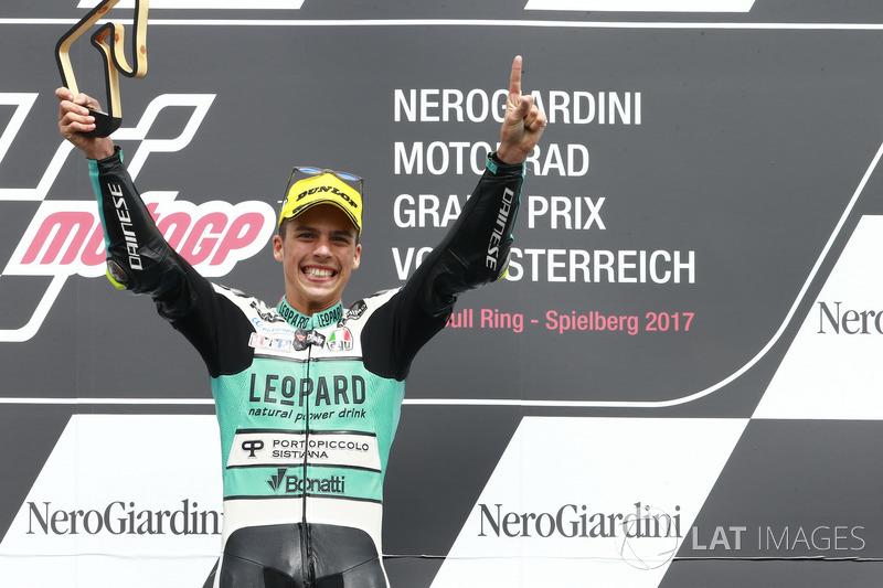 Podio: Joan Mir, Leopard Racing