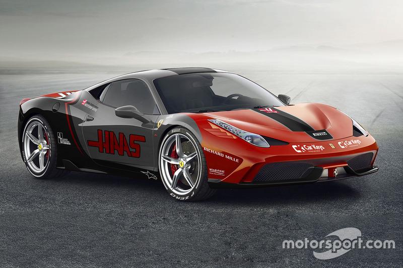 Ferrari 458 / Haas F1 Team
