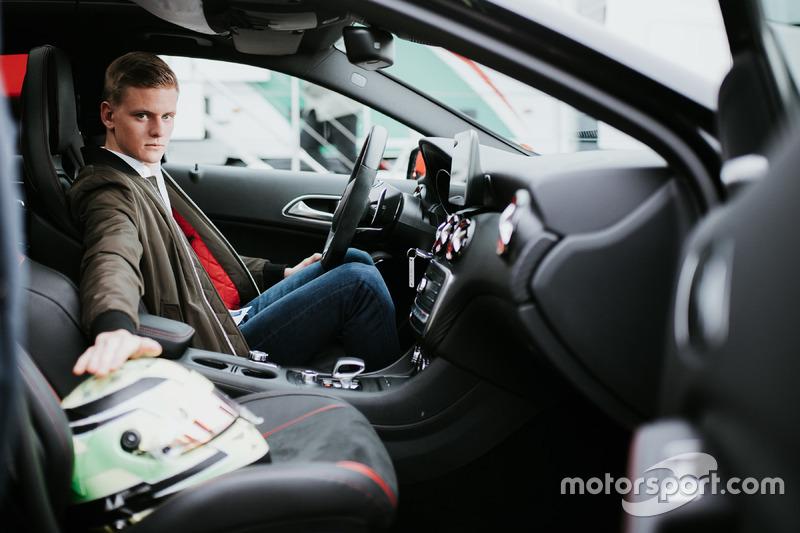 Mick Schumacher, embajador de Mercedes-Benz