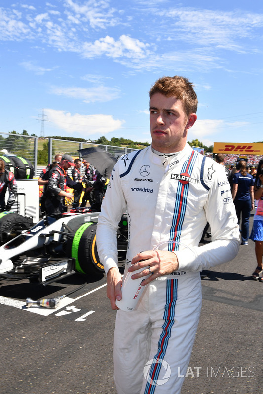 Paul di Resta, Williams en la parrilla