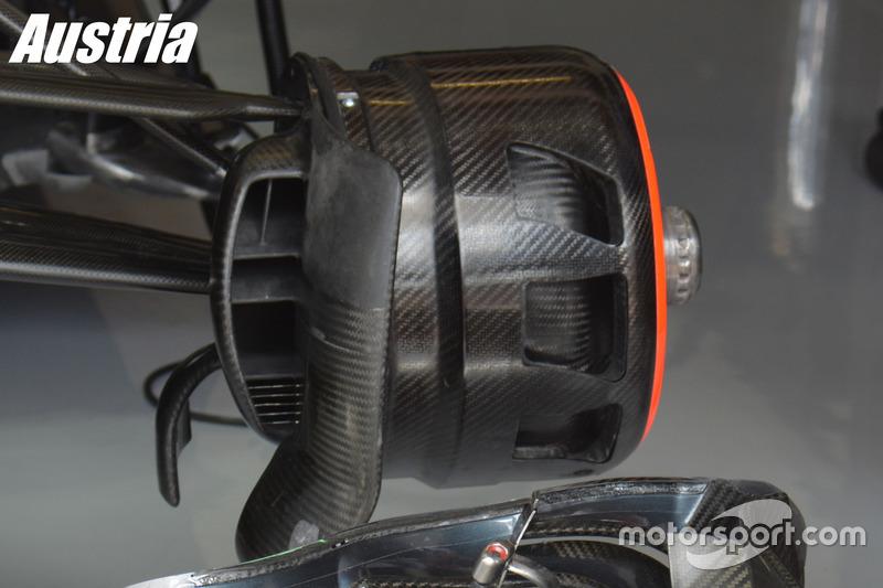 McLaren MP4-31: Bremse, Grand Prix von Österreich