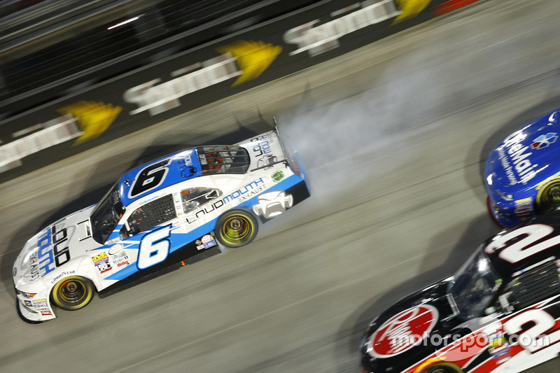Problemi per Darrell Wallace Jr., Roush Fenway Racing Ford