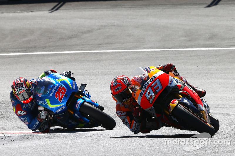 Marc Marquez, Repsol Honda Team, Maverick Viñales, Team Suzuki Ecstar MotoGP