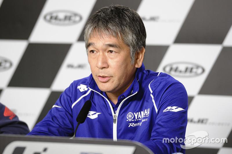 Kouichi Tsuji, General Manager Divisione Sviluppo Motorsports, Yamaha Motor