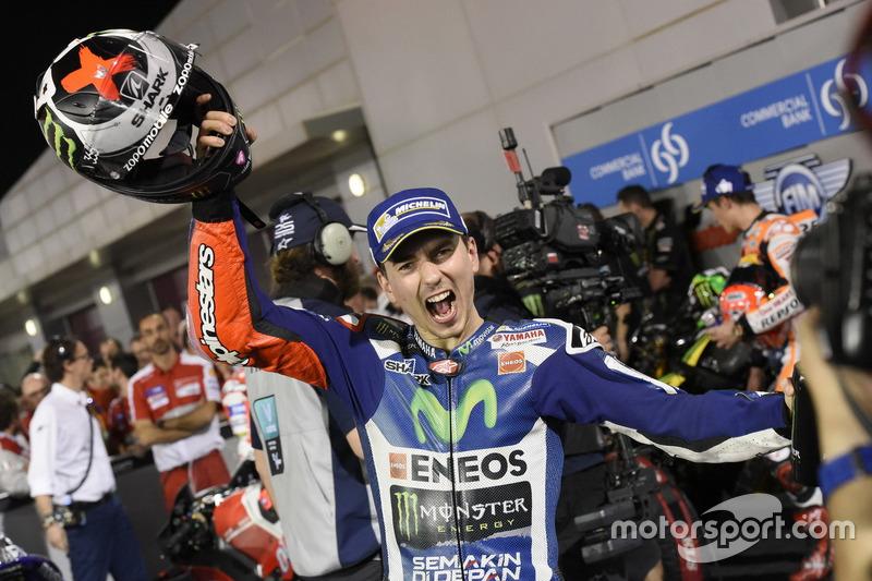 Jorge Lorenzo, Movistar Yamaha MotoGP, Yamaha im Parc Ferme