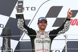Podio: segundo lugar Cal Crutchlow, Team LCR Honda
