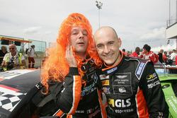 Francesco Sini e Massimiliano Mugelli, Solaris Motorsport festeggiano il terzo posto in Gara 1