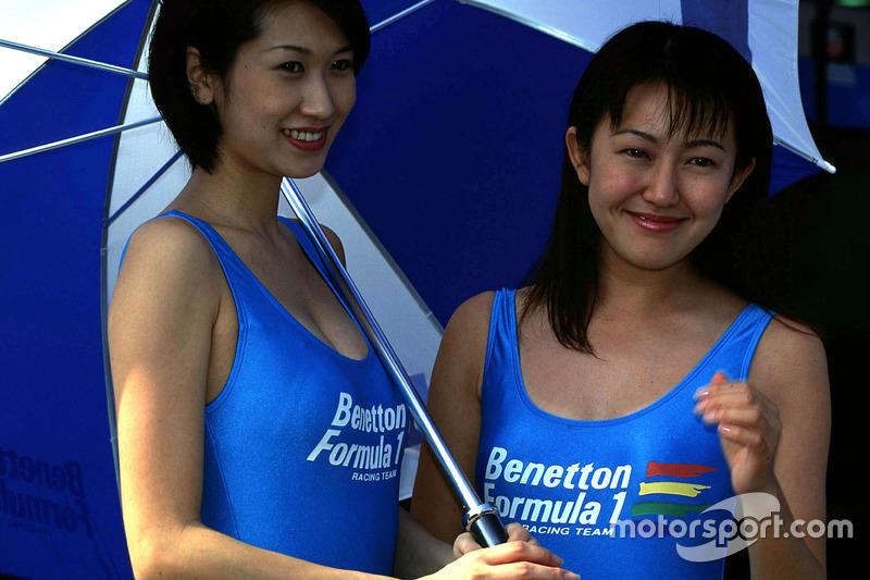 Benetton lányok