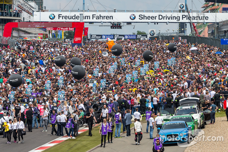 Spectators on the grid