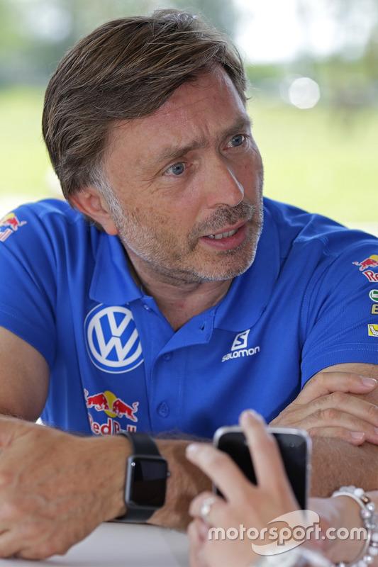 Йост Капито, директор Volkswagen Motorsport