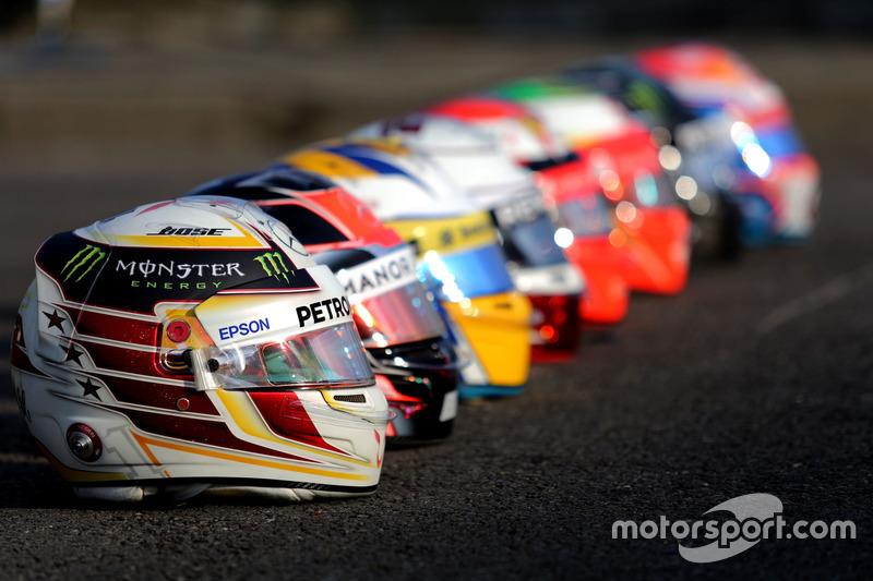 Bell Helmets, Lewis Hamilton, Mercedes AMG F1 Team