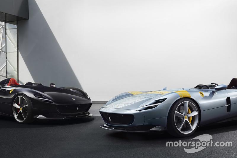 Ferrari Monza SP1 та Monza SP2