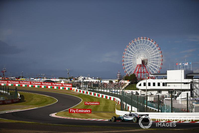 Japon - Lewis Hamilton, Mercedes
