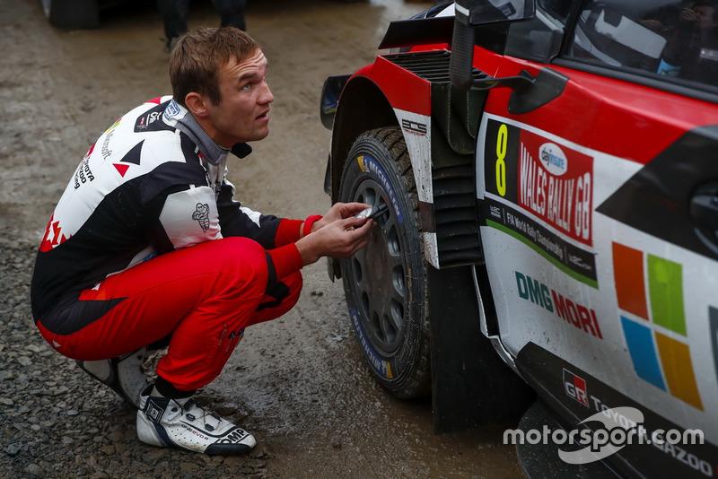 Copiloto del año del WRC 2018: Martin Järveoja, copiloto de Ott Tanak - Toyota Gazoo Racing