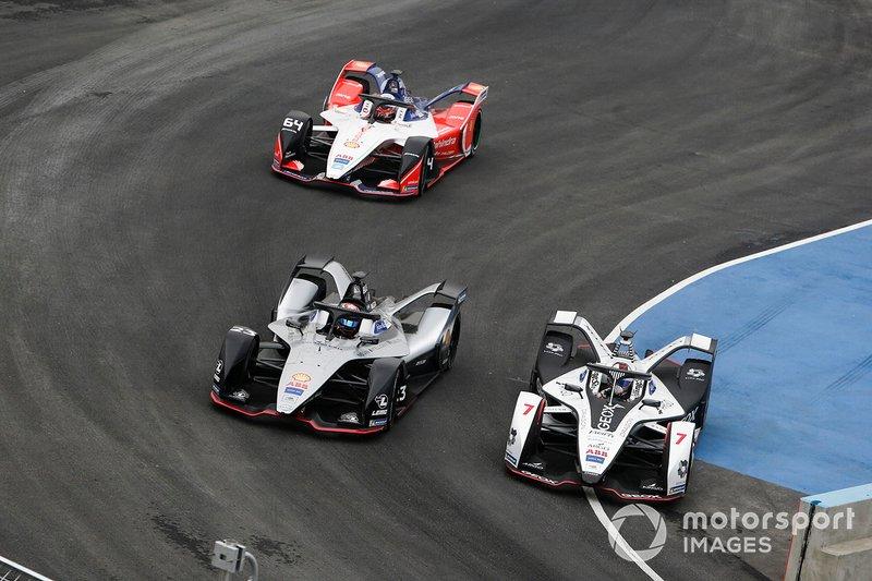 Jose Maria Lopez, GEOX Dragon Racing, Penske EV-3, Sébastien Buemi, Nissan e.Dams, Nissan IMO1, Jérôme d'Ambrosio, Mahindra Racing, M5 Electro
