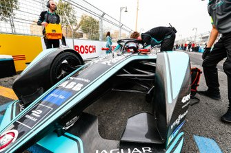 Mitch Evans, Panasonic Jaguar Racing, Jaguar I-Type 3 on the grid