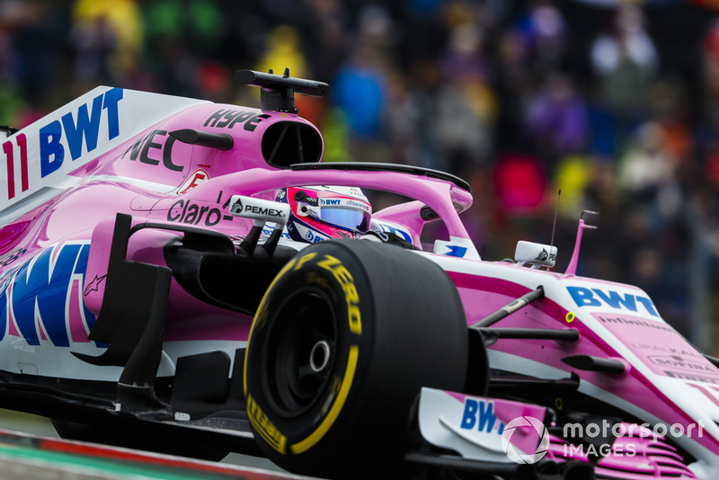 Sergio Perez - Racing Point Force India: 7 puan