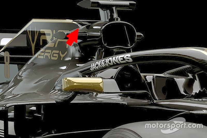 Haas F1 VF-19 detay