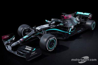 Mercedes black livery unveil