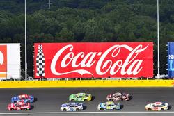 Ryan Newman, Richard Childress Racing, Chevrolet; Trevor Bayne, Roush Fenway Racing, Ford