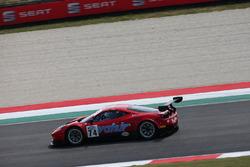 Ferrari 458 GT3 #74 MP1 Corse: Benucci-Nobili