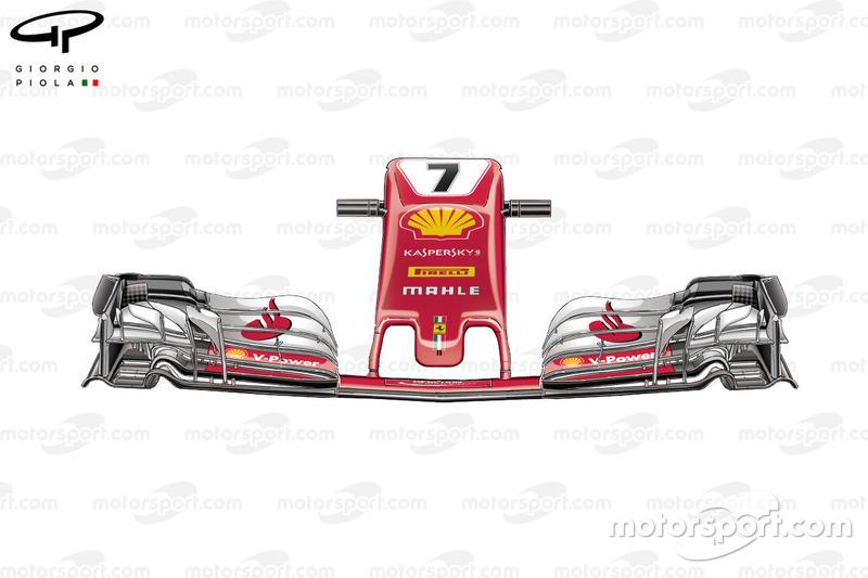 Старий ніс Ferrari SF70H