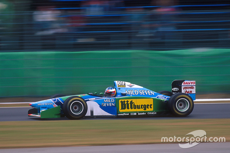 Michael Schumacher, Benetton