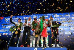 Подиум: второе место – Тед Бьорк, Polestar Cyan Racing, победитель Норберт Михелиц, Honda Racing Team JAS, третье место – Тьягу Монтейру, Honda Racing Team JAS; Роб Хафф, All-Inkl Motorsport