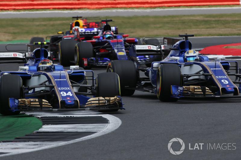 Маркус Ерікссон незадоволений діями партнера по Sauber Паскаля Верляйна