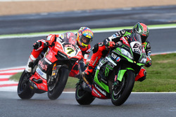 Tom Sykes, Kawasaki Racing, Chaz Davies, Ducati Team