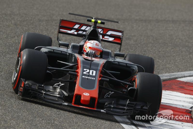 Magnussen rompe sequía para Haas
