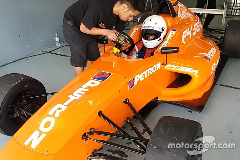 Tes Formula 4 SEA Mygale M14-F4 Renault