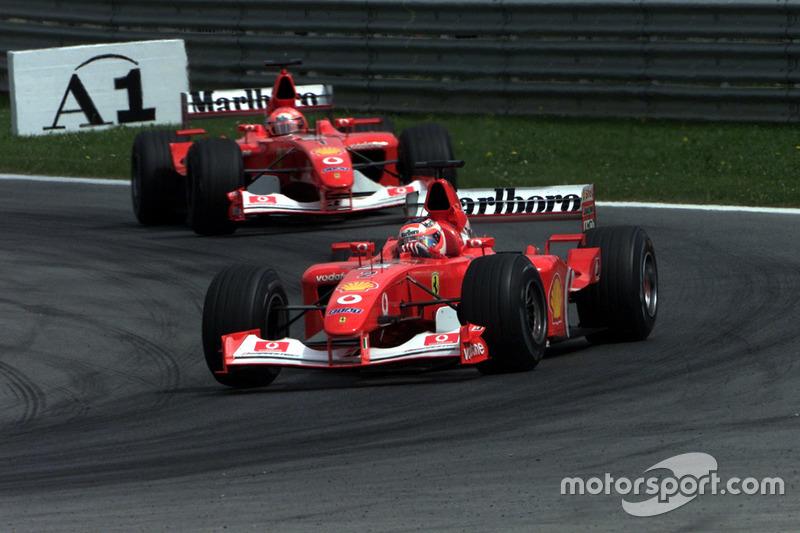 2002-2003: Rubens Barrichello, Ferrari F2002