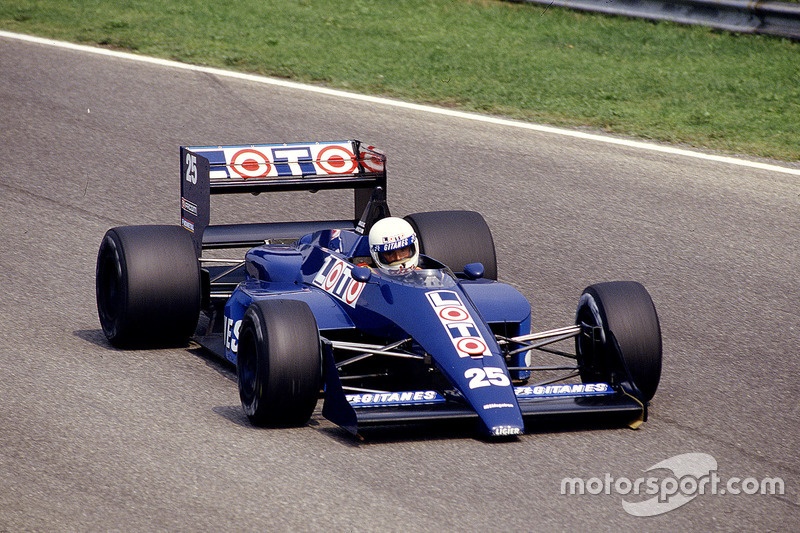 #25 : Rene Arnoux, Ligier JS29C, Megatron