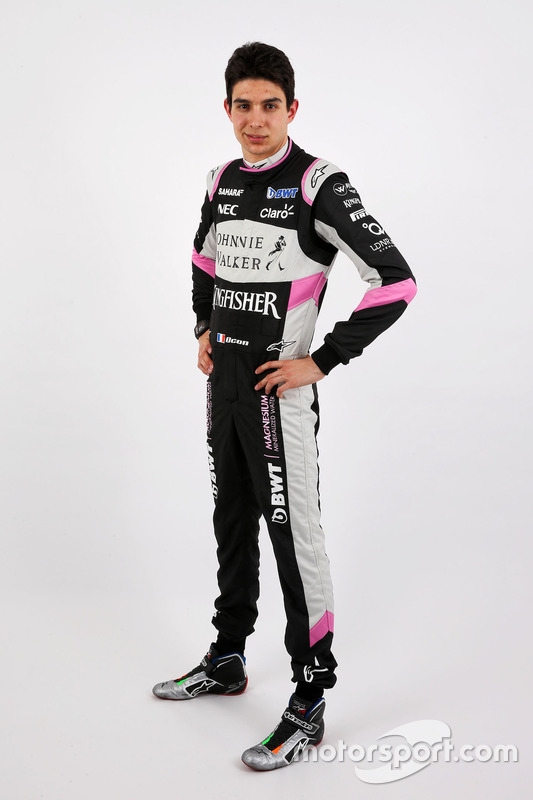 Esteban Ocon, Sahara Force India F1